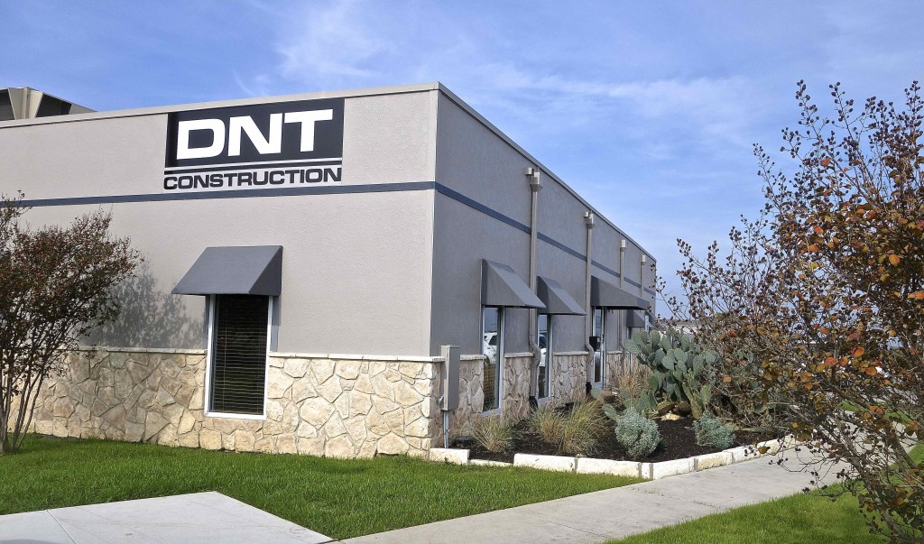 A new exterior sign was created to exemplify the solidity of this grade A company. The exterior was painted in colors that represent the different shades of soil turned up as the company equipment works to excavate plots of land.